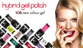 NEW COLORS OF HYBRID GEL LA ROSA